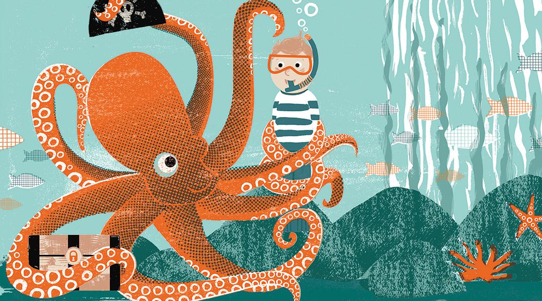 Lotta Magazine Sea Issue illustration