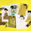 Lotta DIY Mag Klimt art history activities colouring