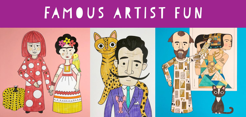 Famous artist fun