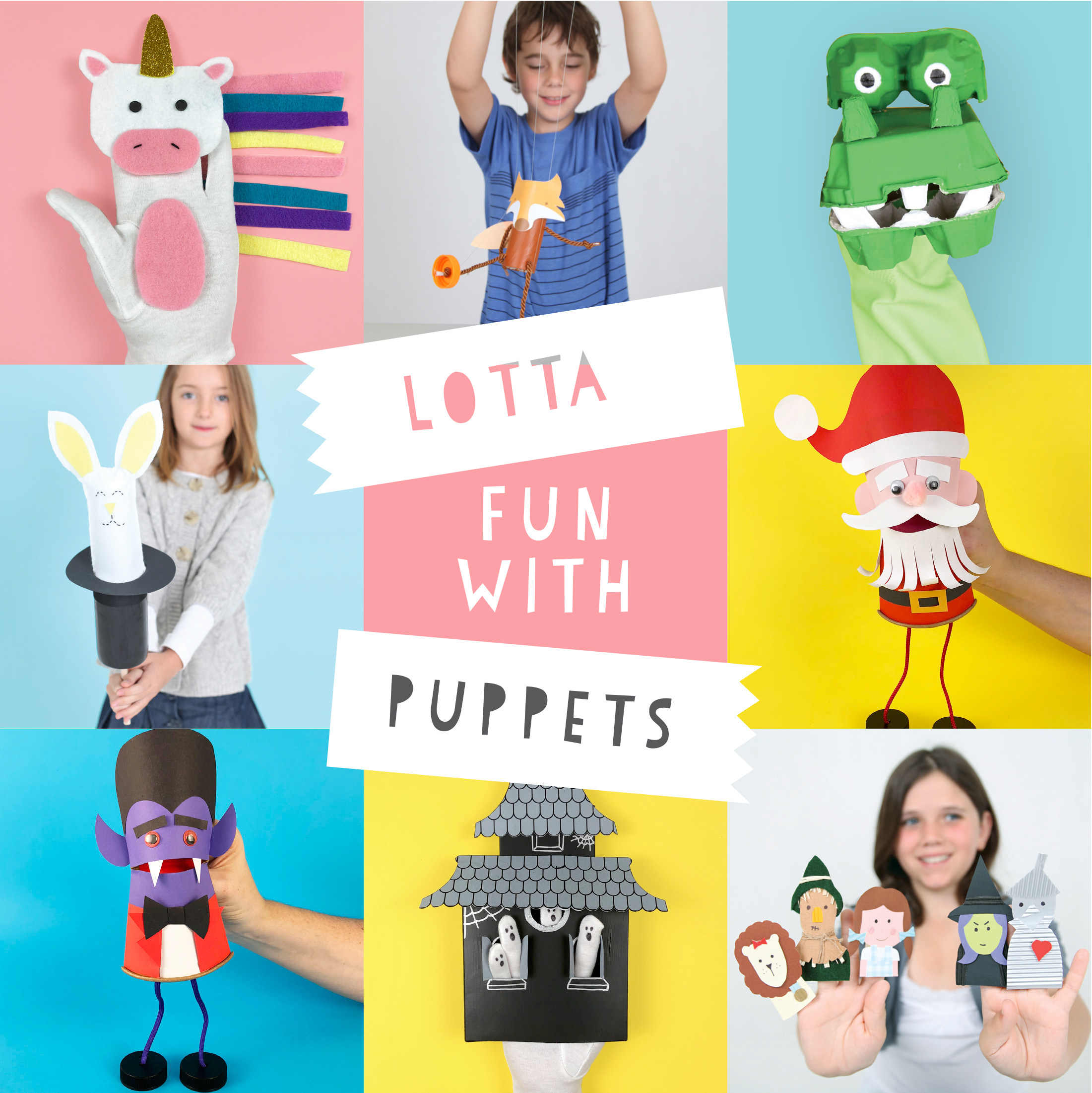 Lotta fun with puppets ebook for kids