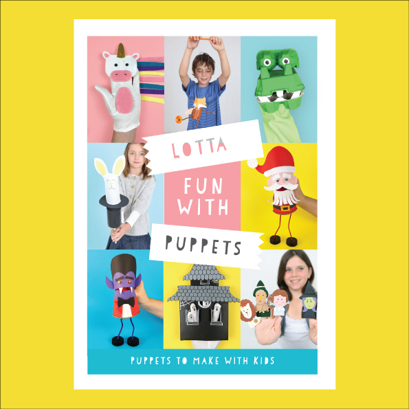 Lotta Fun With Puppets ebook cover